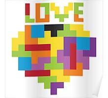 Love Tetris  Poster