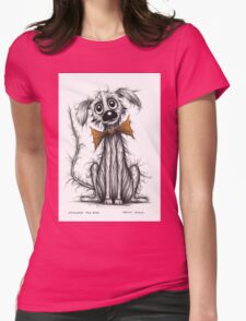 Stinker the dog Womens Fitted T-Shirt