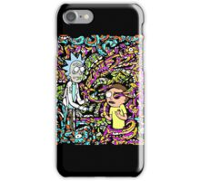Trippy Rick And Morty iPhone Case/Skin