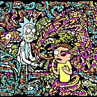 Trippy Rick And Morty by ozzientrepeneur