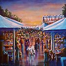 Morning at the flea market by Deb Reynolds