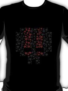 Necromancer Pixel Art Skull T-Shirt T-Shirt