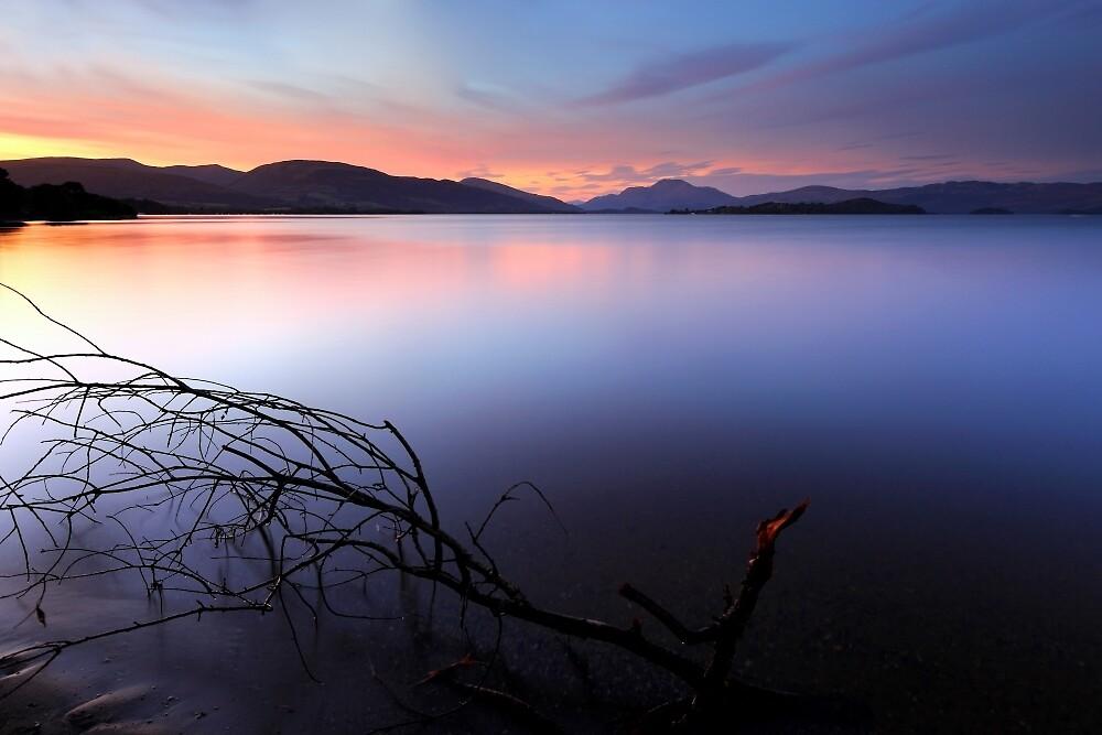Sunset at Loch lomond by Grant Glendinning