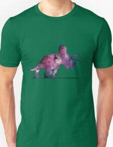 Triceratops Nebula Unisex T-Shirt
