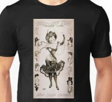 Performing Arts Posters Geo W Lederers Belle of New York the rage of two continents book by Hugh Morton music by Gustav Kerker 1490 Unisex T-Shirt