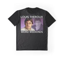 Louis Theroux Weird Weekends Graphic T-Shirt