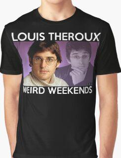 Louis Theroux Weird Weekends Graphic T-Shirt