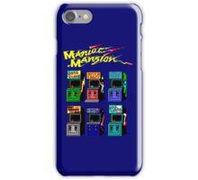 MANIAC MANSION ARCADE ROOM iPhone Case/Skin