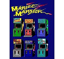 MANIAC MANSION ARCADE ROOM Photographic Print