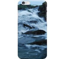 Streaming waves - Long Beach, NY iPhone Case/Skin