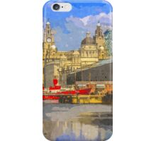 The Albert Dock and Royal Liver Building iPhone Case/Skin