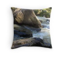 Rock Scape Throw Pillow