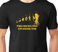Lovecraft Cthulhu Darwinism Unisex T-Shirt