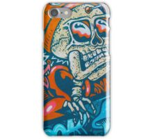 Skull Man With Glasses iPhone Case/Skin
