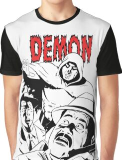 THE DEMON B/W (clear background - no white in design) Graphic T-Shirt