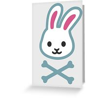 rabbit and the bones   Greeting Card