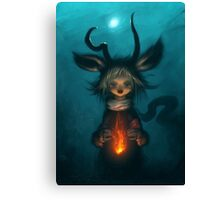 Kindle Canvas Print