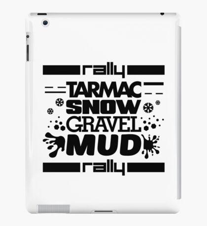 Rally – tarmac snow gravel mud (1) iPad Case/Skin