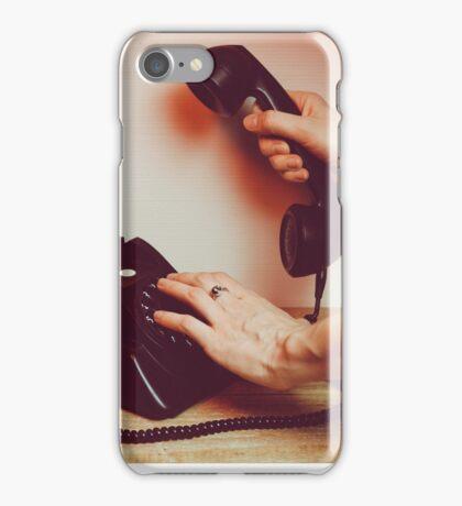 Call me! iPhone Case/Skin