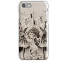 Performing Arts Posters Grotesque gyrations by gifted eccentriques 0554 iPhone Case/Skin