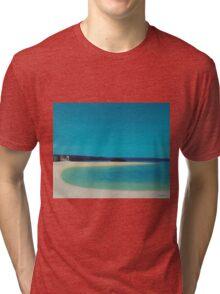Marizion Beach. Tri-blend T-Shirt