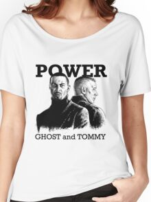Power TV - Ghost and Tommy Women's Relaxed Fit T-Shirt