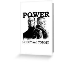 Power TV - Ghost and Tommy Greeting Card
