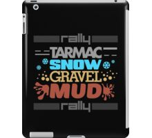 Rally – tarmac snow gravel mud (3) iPad Case/Skin