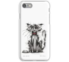 Ugly the cat iPhone Case/Skin