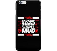 Rally – tarmac snow gravel mud (5) iPhone Case/Skin