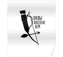Draw Anchor Aim Archery  Poster