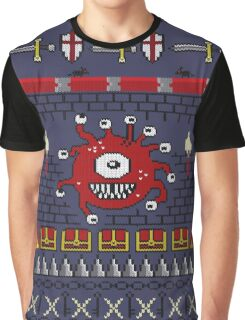 Dungeons and Dragons - Knitted Style Graphic T-Shirt