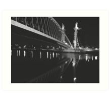 Salford Quays Bridge  Art Print