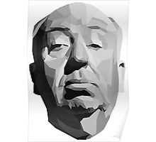 Alfred Hitchcock Geometric Graphic Poster