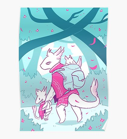 Dragons for Hire - Single Wyvern Dad Poster