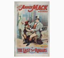 Performing Arts Posters The singing comedian Andrew Mack in the The last of the Rohans by Ramsay Morris 1113 One Piece - Short Sleeve