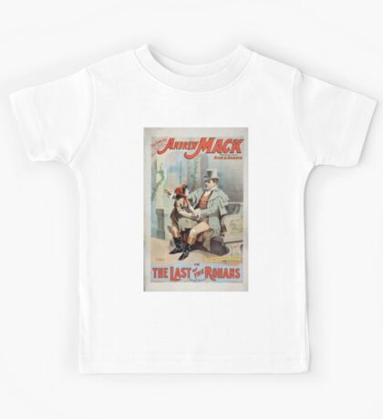 Performing Arts Posters The singing comedian Andrew Mack in the The last of the Rohans by Ramsay Morris 1113 Kids Tee