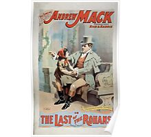 Performing Arts Posters The singing comedian Andrew Mack in the The last of the Rohans by Ramsay Morris 1113 Poster