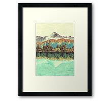 The Unknown Hills in Kamakura Framed Print
