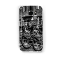 Yellow Bicycles In Monochrome Samsung Galaxy Case/Skin