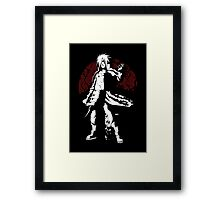 Descent Into Darkness Framed Print