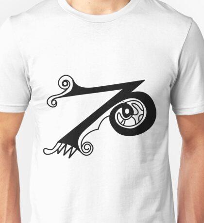 Kells Letter Z Unisex T-Shirt