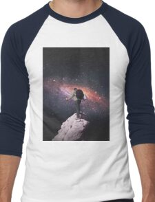 Space tourist Men's Baseball ¾ T-Shirt