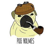 PUG HOLMES Photographic Print