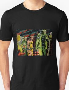 The monsters and their slave Unisex T-Shirt