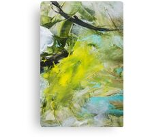summer colors. colorful background Canvas Print
