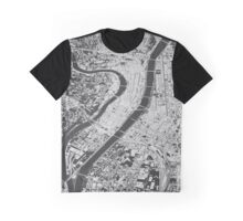 Lyon, wireframe Graphic T-Shirt