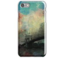Abstract Colourful Golden Gate Bridge iPhone Case/Skin