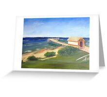 St Leonards Pier Victoria Australia Greeting Card