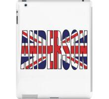 Anderson (UK) iPad Case/Skin